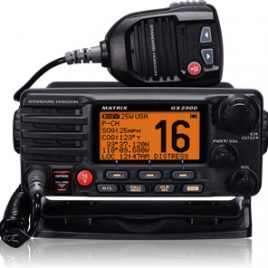 RADIO VHF MATRIX GX 2000